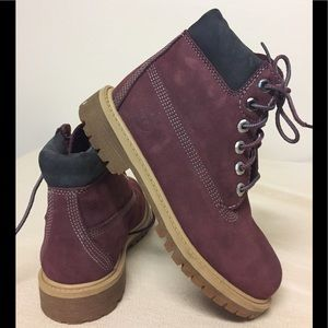 Timberland insulated boots.